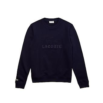 Lacoste Men's Embroidered Logo Cotton Fleece Sweatshirt
