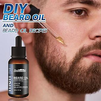 Beard Growth Oil Natural Organic Beard Essential Oil