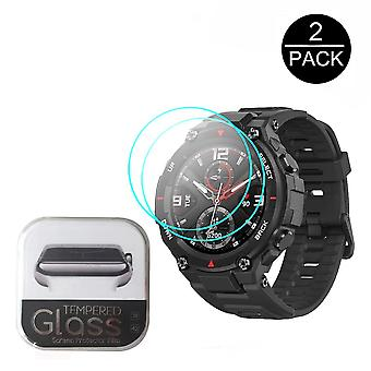 2pcs For Huami Amazfit T-rex Tempered Glass Screen-protector For Ces Amazfit
