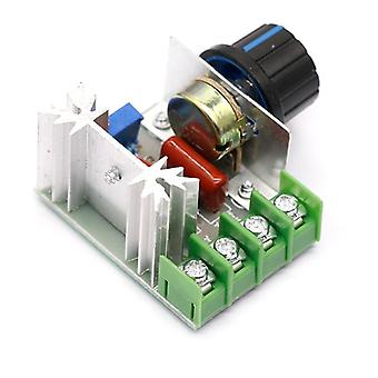 Ac 220v, 2000w Scr Voltage Regulator- Dimming Dimmers Speed Controller