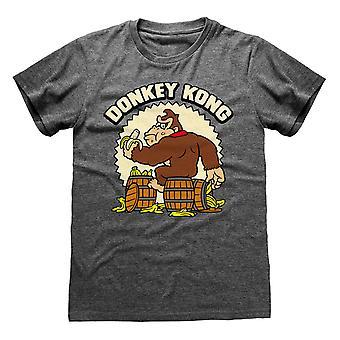 Super Mario Unisex Adulte Donkey Kong T-Shirt