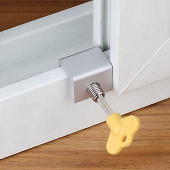 Porte coulissante d'alliage de fenêtre, serrure antivol de sécurité de cadre avec la clé