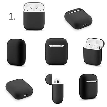 Soft Silicone Cases For Apple Airpods 1/2 Protective Case Bluetooth Wireless Earphone Cover For Apple Air Pods Charging Box Bags