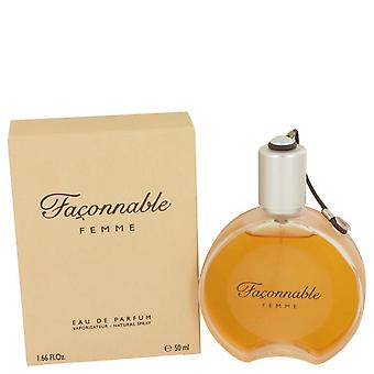 Faconnable Eau De Toilette Spray door Faconnable 1.7 oz Eau De Toilette Spray