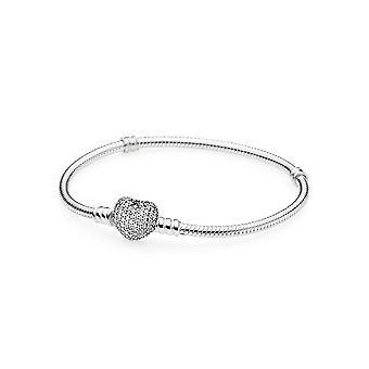 Pandora 590727CZ Women's Moments Sterling Zilveren Armband