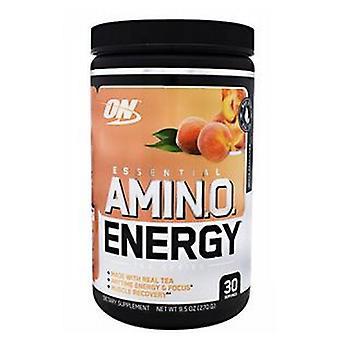 Optimum Nutrition Essential Amino Energy, Peach White Tea 30 Portions