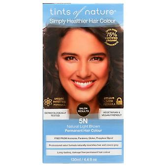 Tints of Nature Permanent Hair Color, 5N Natural Light Brown 4.4 Oz