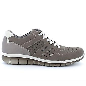 Zapato de Hombre Igi&co Beneficio 5121111 En Grey Nabuck