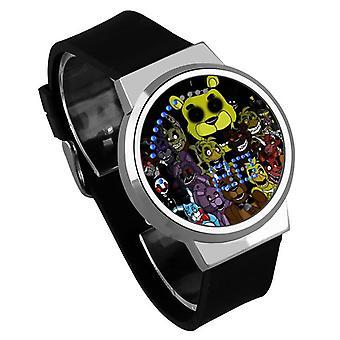 Αδιάβροχο φωτεινό ρολόι παιδιών αφής φωτεινών οδηγήσεων - πέντε νύχτες σε Freddy's