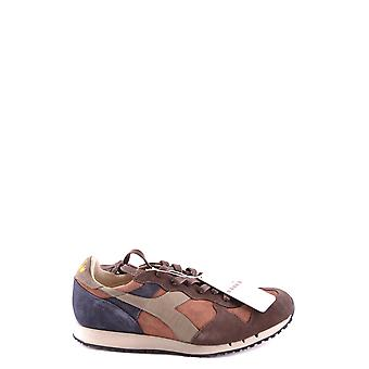 Diadora Ezbc116056 Women's Brown Suede Sneakers