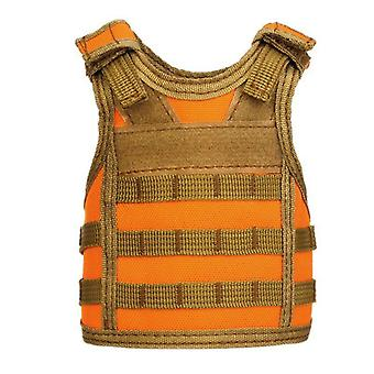 Tactical Beer Bottle Vest Cover Military, Mini Miniature Molle Vest, Personal