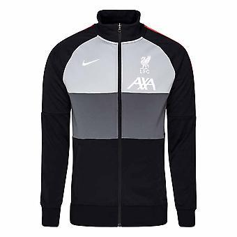 2020-2021 Liverpool CL I96 Anthem Jacket (Svart)