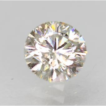 認定 0.54 カラット H VVS2 ラウンド ブリリアント エンハンスナチュラル ルーズ ダイヤモンド 5.16m