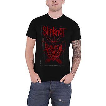 Slipknot T Shirt Dead Effect Band Logo Gray Chapter Official Mens New Black