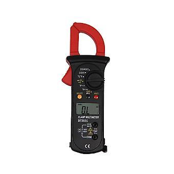 Digital Clamp Multimeter Volt Meter with Auto Ranging Measures Voltage Tester
