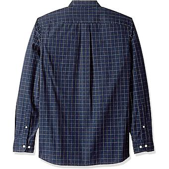 Goodthreads Miehet's Standard-Fit pitkähihainen ruudullinen popliini paita button-dow ...