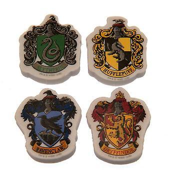 Harry Potter Houses Eraser Set (Pack Of 4)