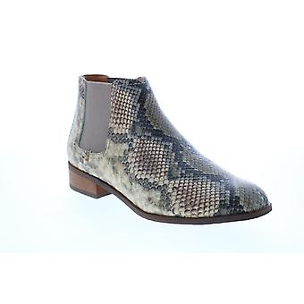 Frye & Co. Mila Chelsea  Womens Gray Leather Ankle & Booties Boots