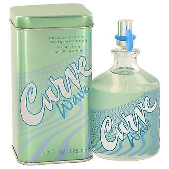 Kurven bølge af Liz Claiborne Cologne Spray 4,2 oz/125 ml (mænd)