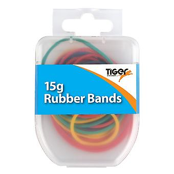 Tiger Stationery Essential Rubber Bands