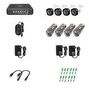 Kodin turvakamerat Järjestelmä VideoValvontasarja Cctv Kamerajärjestelmä