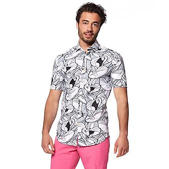 Chemise Bugs Bunny Polyester Homme Bt412504
