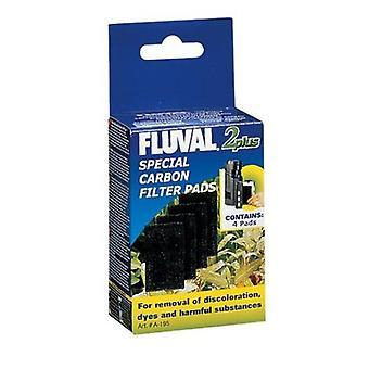 Fluval 2Plus Carga Carbón (Peces , Filtros y bombas , Material filtrante)