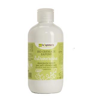 Extra virgin soap cream (Shower gel for ultra-delicate skin) 250 ml of cream