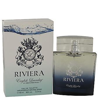 Riviera Eau De Toilette Spray By English Laundry 3.4 oz Eau De Toilette Spray
