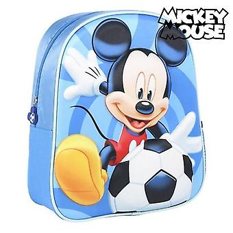 3D child bag mickey mouse blue