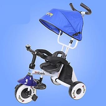 Three Wheels Stroller's Foldable Tricycle Bicycle