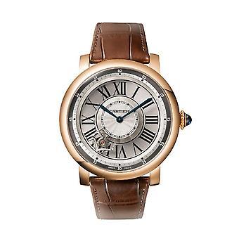 Cartier Rotonde de Cartier Astrotourbillon 18 kt Rose Gold Men's Watch W1556205