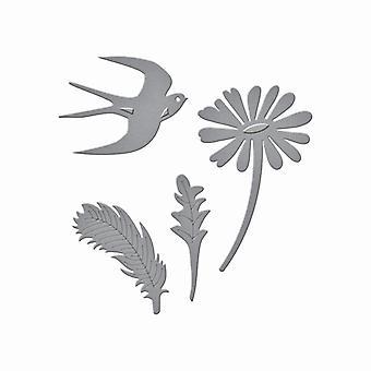 Spellbinders Die D-Lites - Signs of Spring 1
