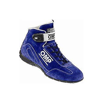 מגפי מירוץ OMP CO-Driver כחול (גודל 42)