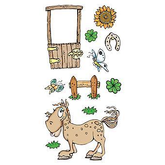Jeje Marij Rahder Clear Stamps Horse
