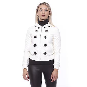 Versace Valkoinen Takki 19v69 Naiset
