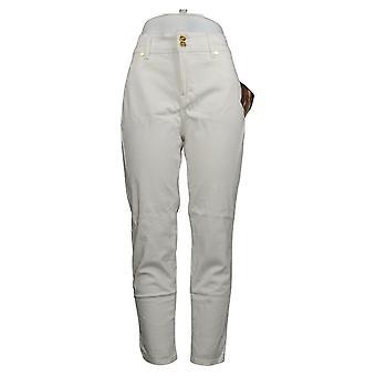 Global Chic By Iman Women's Jeans Petite Slim Skinny White 685778UCU