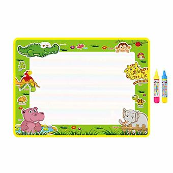 Magic doodle mat educational kids water drawing toys gift kt-14