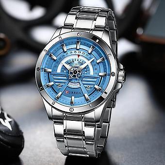 Edelstahl Armbanduhren Business Quarzuhr