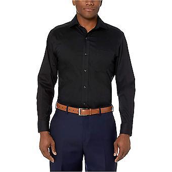 Brand - BUTTONED DOWN Men's Classic Fit Stretch Twill Dress Shirt, Supima Cotton Non-Iron, Spread-Collar