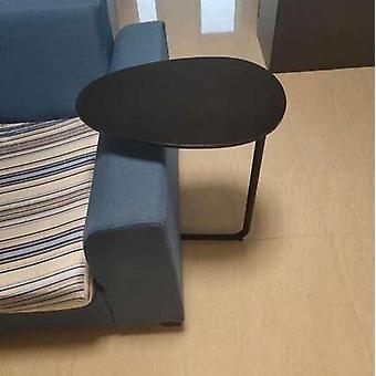 Yksinkertainen moderni ja rautataide sohvanurkkaus & sivupöytä