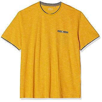 s.Oliver Big Size 15.909.32.4547 T-Shirt, Yellow (Sunny Morning 15g0), XXX-Large Men