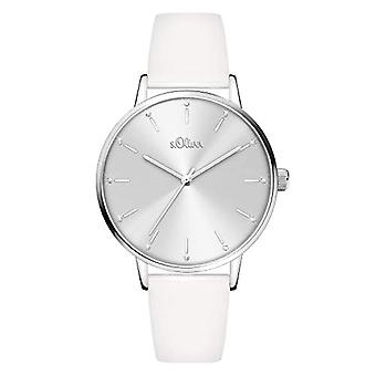 s.Oliver Analog Quartz Watch Woman with Fake Leather Strap SO-4089-LQ
