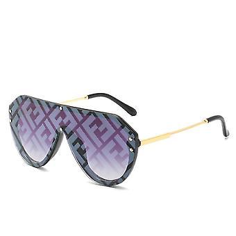 Woman Fashion Metal Sunglasses
