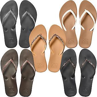 Reef Womens Cushion Bounce Stargazer Pool Beach Summer Flip Flop Thongs Sandals
