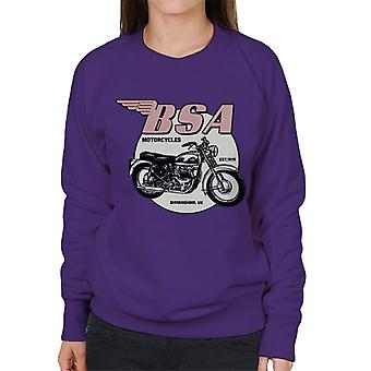 BSA Motorcycles Est 1919 Golden Flash Women's Sweatshirt