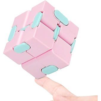 Brinquedo de cubo de rubik rosa dt9933