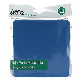 bærbar maske tilfelle FFP2 inca marineblå
