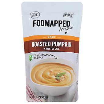 Fodmapped For You Soup Rsted Pumpkin Sage, Case of 5 X 17.6 Oz