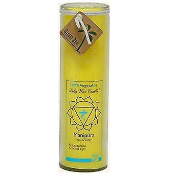 Aloha Bay Candle Chakra Jar, Unscented Yellow,17 OZ